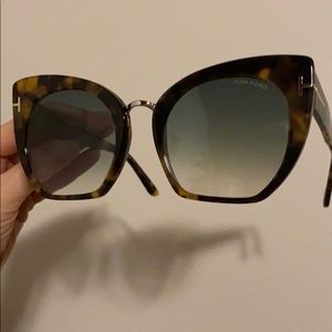 Tom Ford Samantha 55mm Cat Eye sunglasses